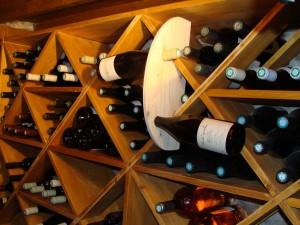 Rangement pour cave à vin